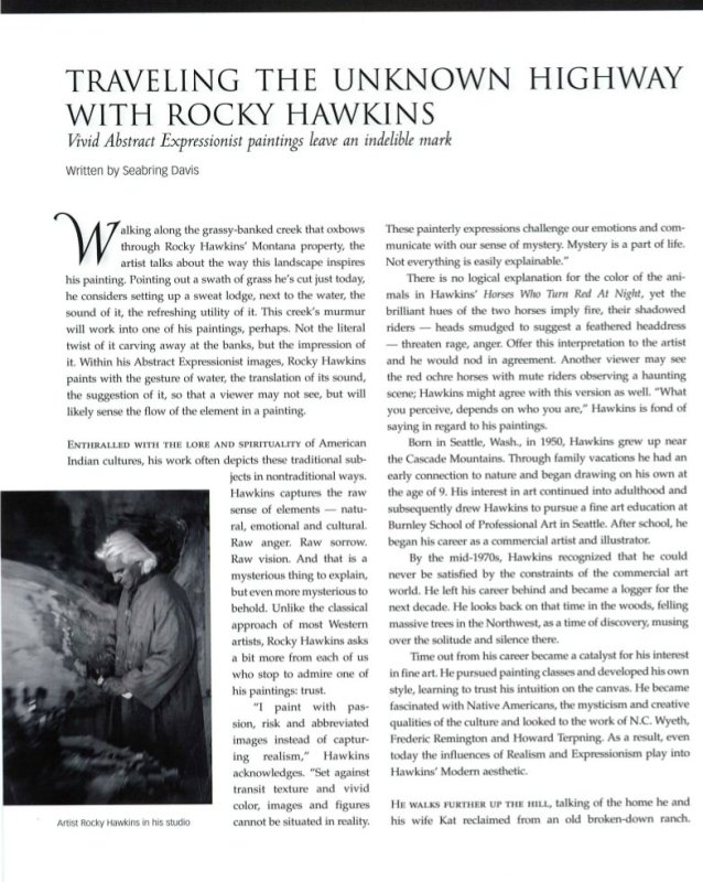 Traveling The Unknown Highway with Rocky Hawkins: Rocky Hawkins