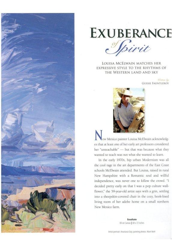 Exuberance of Spirit