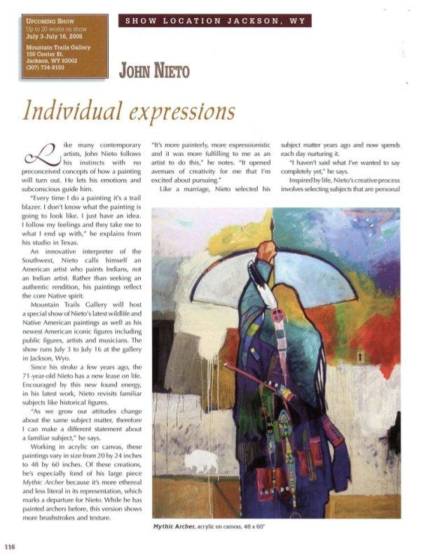 Individual Expressions: John Nieto