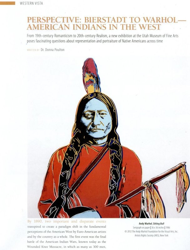 Perspective: Bierstadt to Warhol - American Indian in the West