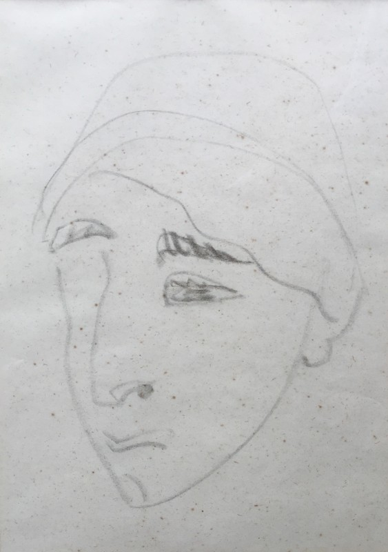 HENRI GAUDIER-BRZESKA (1891-1915)  SOPHIE BRZESKA, 1912  SOLD