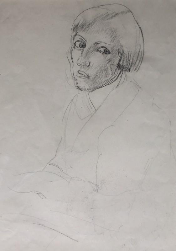 DOROTHY HEPWORTH (1898-1978)  SELF PORTRAIT, 1925  SOLD