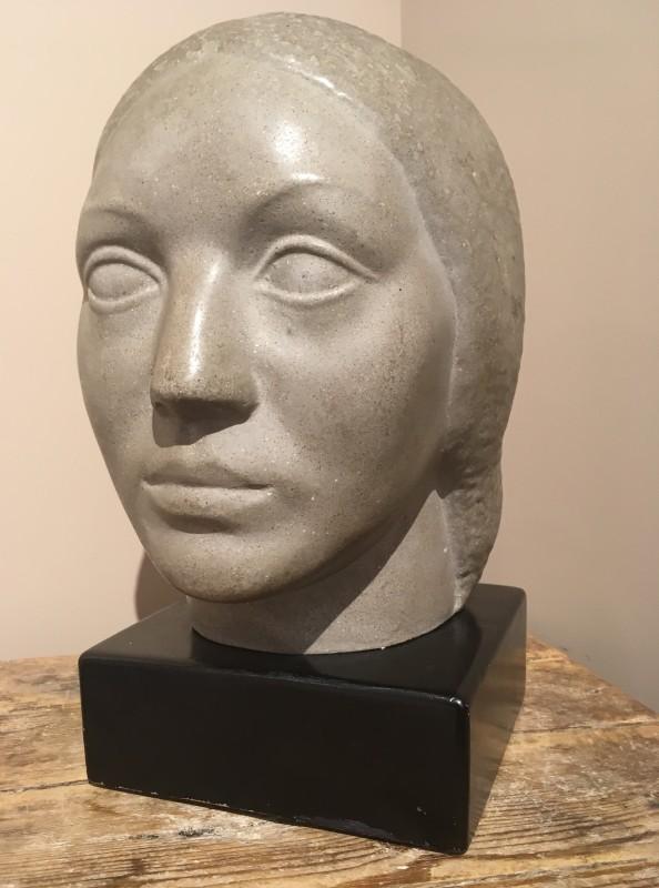 HUMBERT ALBRIZIO (1901-1970)  HEAD OF A WOMAN