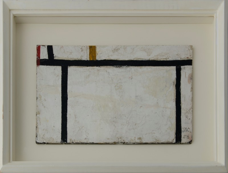 MICHAEL CANNEY (1923-1999)  UNTITLED (GRID PAINTING), 1956  SOLD