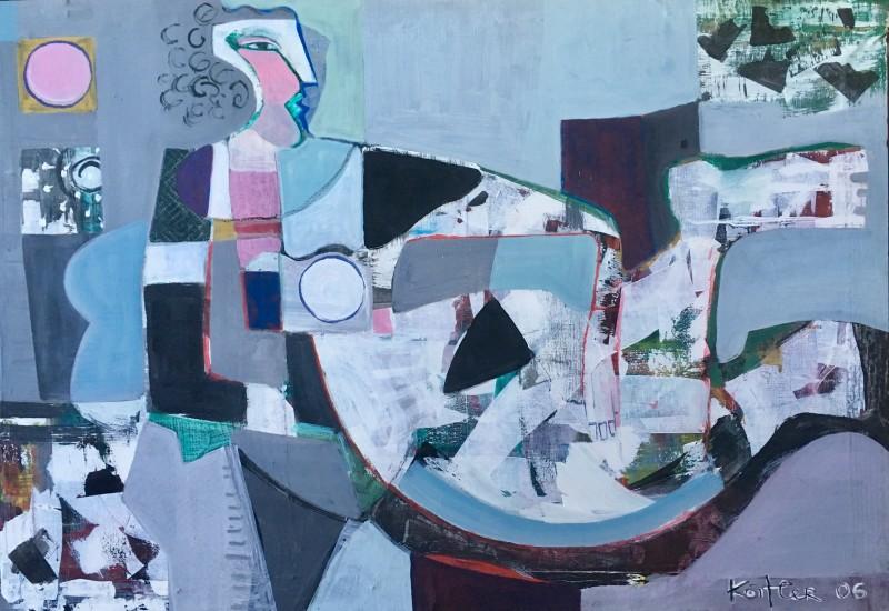 KLARA KOITLER (b. 1954)  RECLINING FIGURE