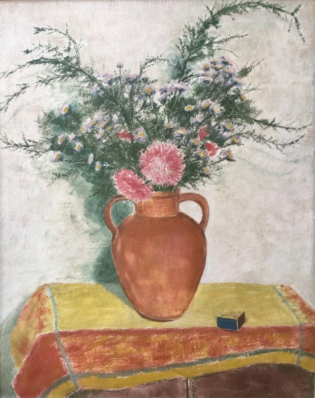 EDMOND XAVIER KAPP (1890-1978)  ASTERS AND MICHAELMAS DAISIES, 1937