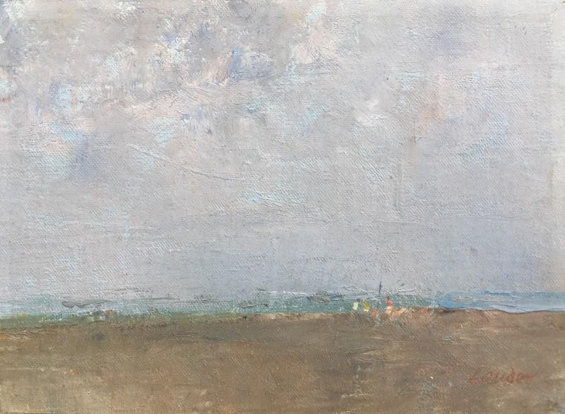 KENNETH LAUDER (1916-2004)  COASTAL LANDSCAPE, c, 1961