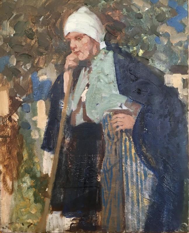 WILLIAM LEE HANKEY (1869-1952)  FARM GIRL