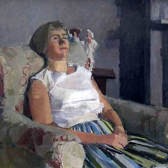 DICK LEE (1923-2001)  PORTRAIT OF RUTH, 1960