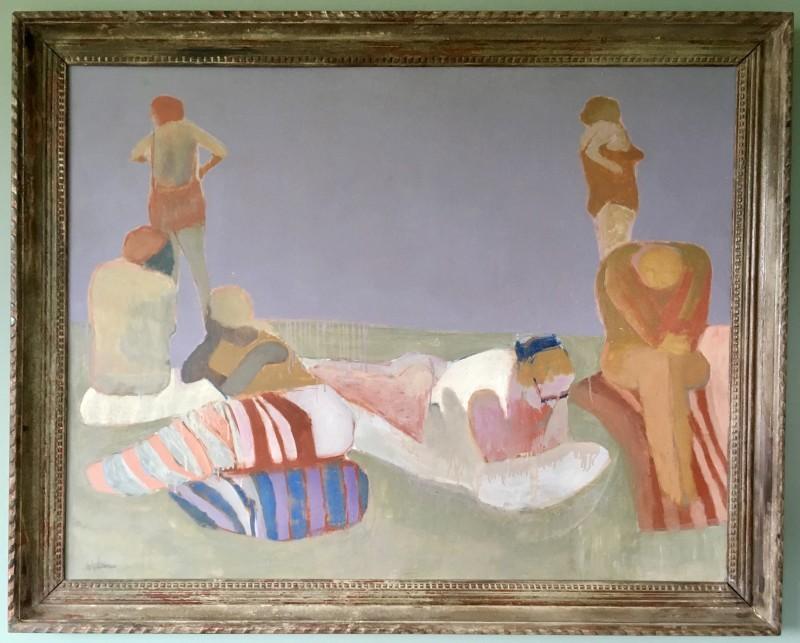 HANS SCHWARZ (1922-2003)  BATHERS I, 1966