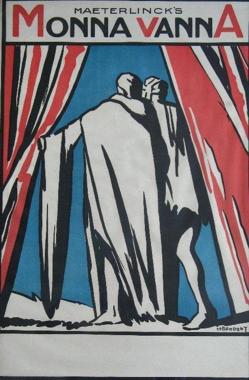 Horace Brodzky (1885-1969)Maeterlinck's Monna Vanna, 1914