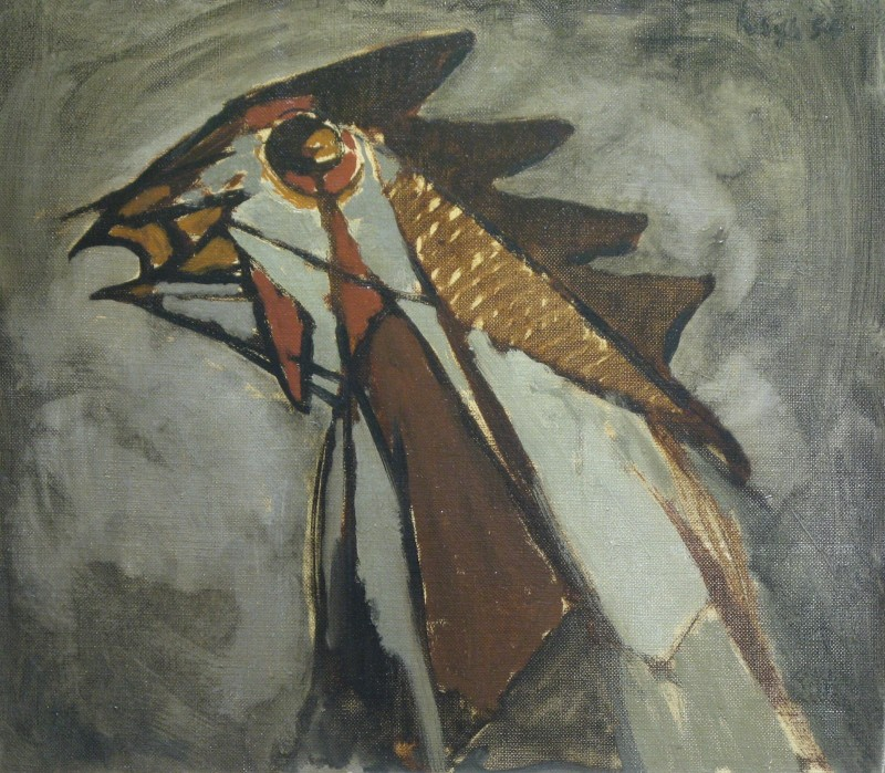 Peter Haigh, Cockerel, 1954