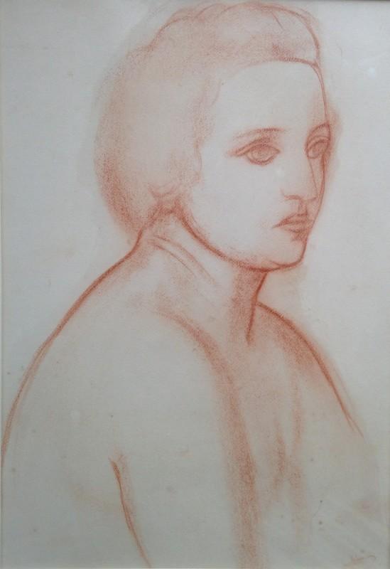 André Derain, Buste de femme, c. 1925