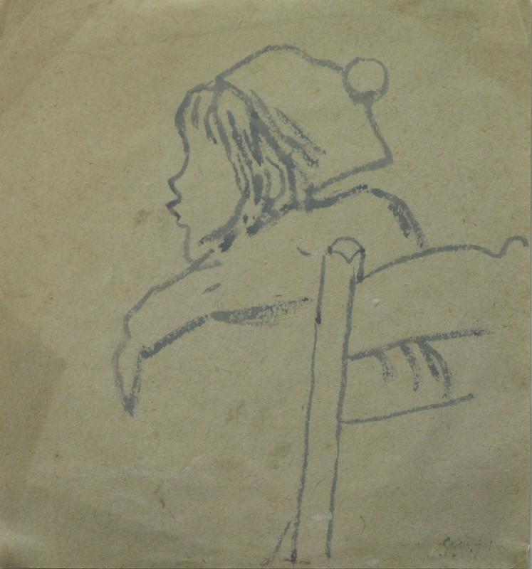 Gwen John, Petit profil, c. 1920's