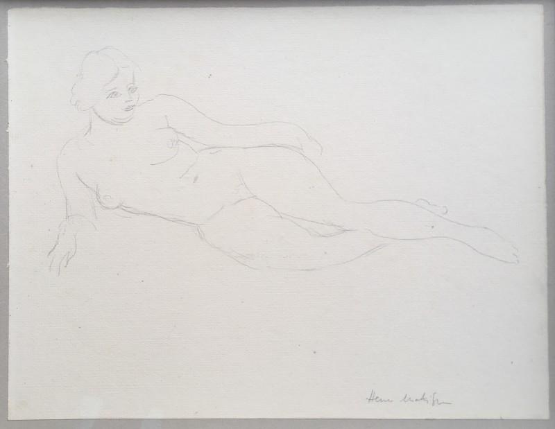 Henri Matisse, Nu allongé, c. 1930