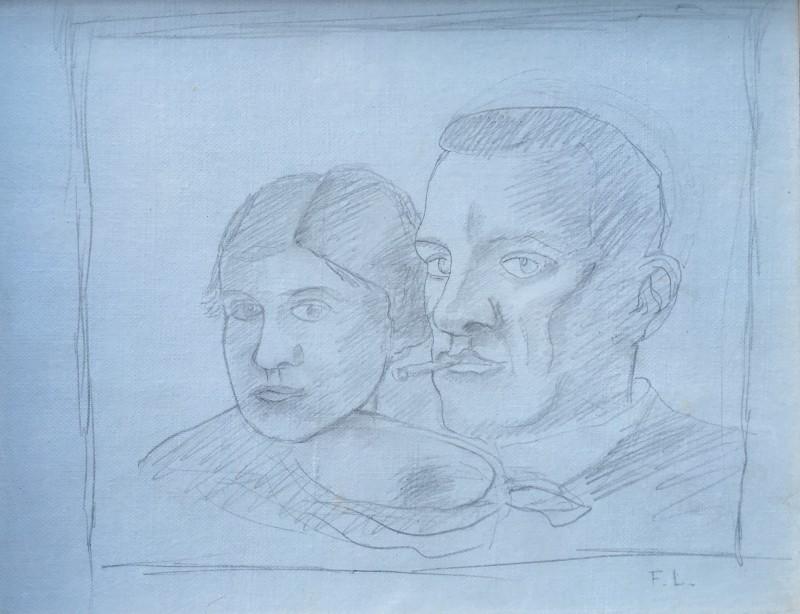 Fernand Léger, Le Couple, 1920s
