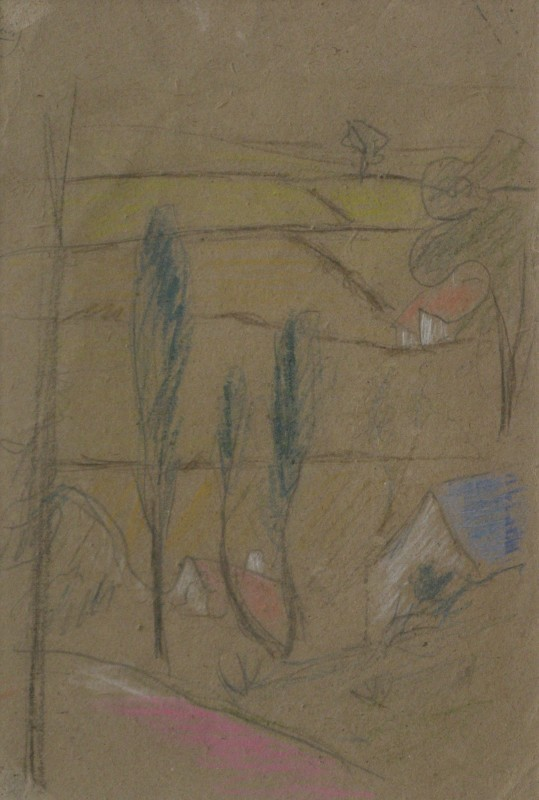 Paul Sérusier (1864-1927)Study for 'La Légende de Sainte Triphine', c. 1904