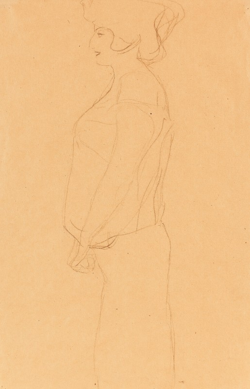 Gustav Klimt (1862-1918)Study for 'Hope', 1903/04