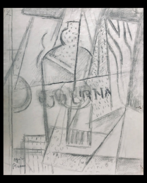 Marie Marevna, Le Journal Still Life (after Picasso), c. 1920