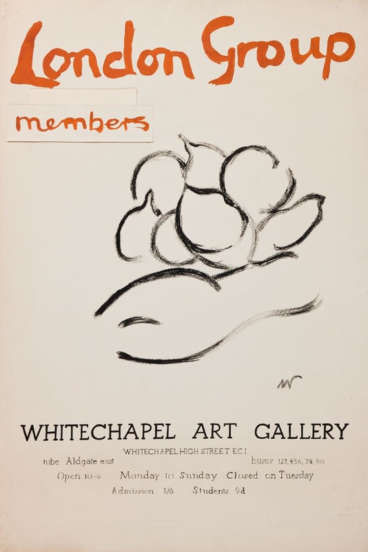 Matthew Smith, London Group Poster Design V, 1955