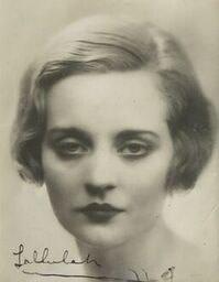 Dorothy Wilding (1893-1976)Tallulah Bankhead, c. 1925