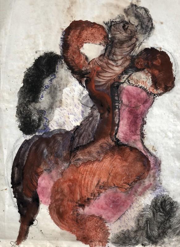 Vera Cuningham (1897-1955)Surrealist Figure, c. 1950