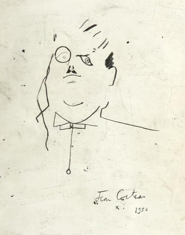 Jean Cocteau (1889-1963)Sergei Diaghilev