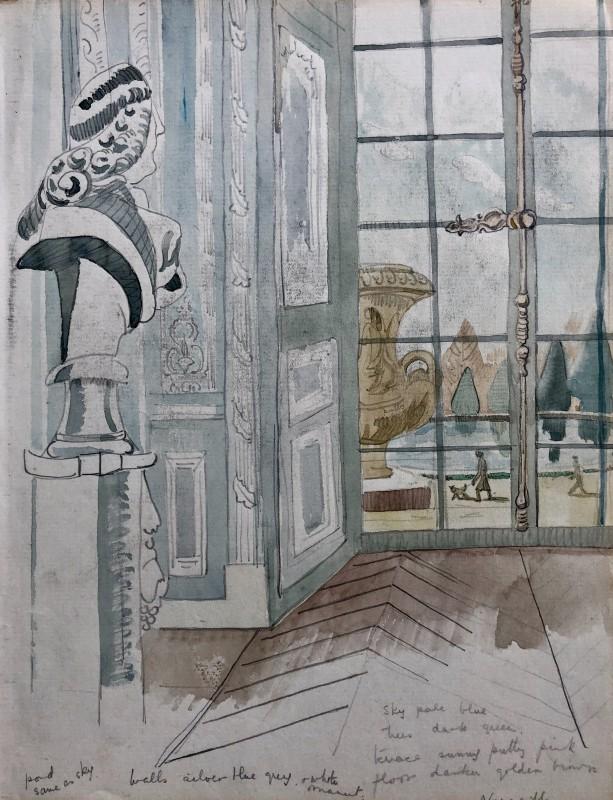 Doris Hatt, Versailles, France, 1930's