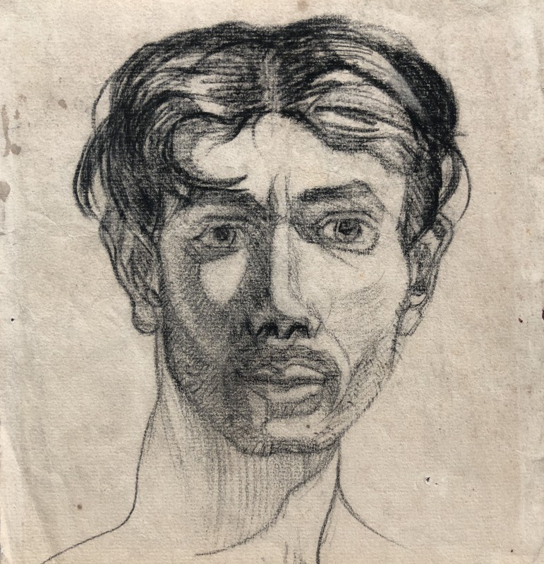 Robert MacBryde (1913-1966)Self Portrait, c. 1938