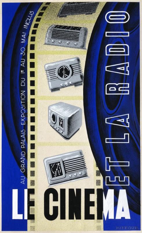 Jacques André Duffour (1926-2016)Le cinema et la radio, 1950