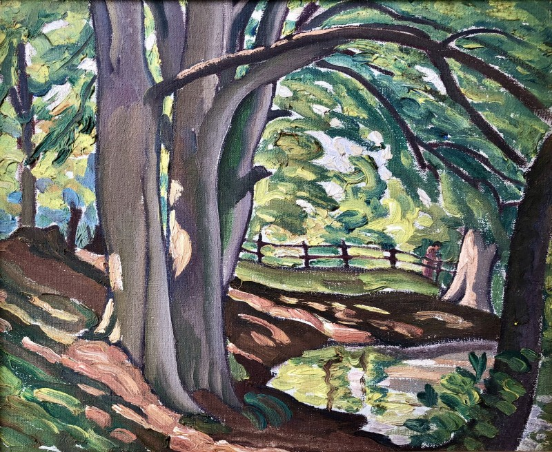 Ethelbert White, The Forest Pool, Summer, c. 1935