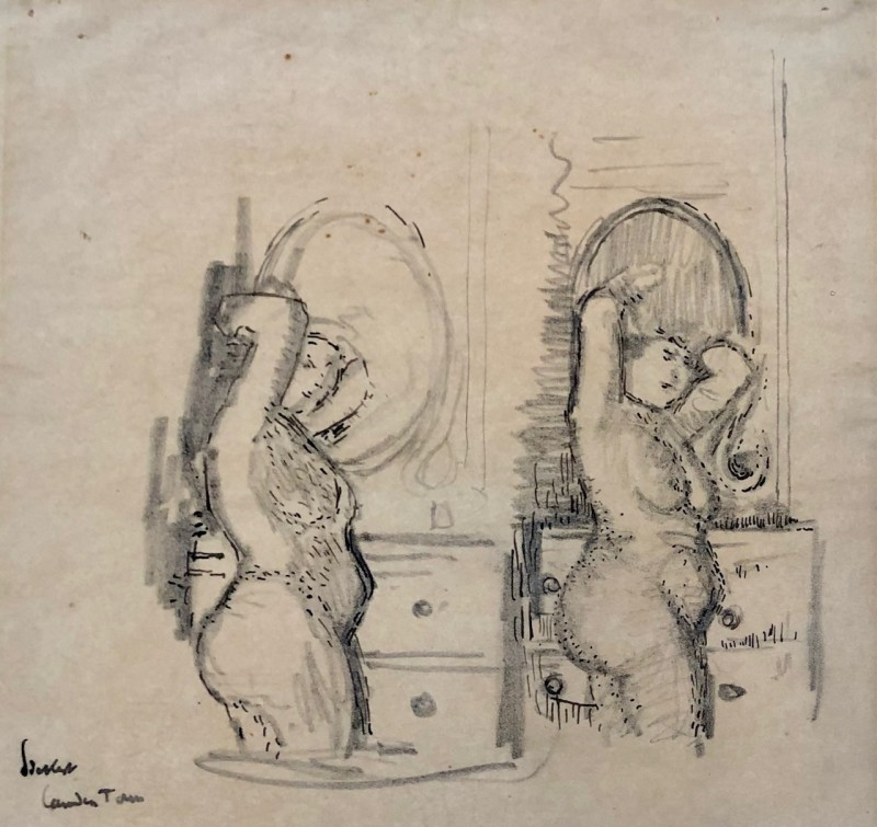Walter Sickert (1860-1942)Mornington Crescent Nude Studies, 1906/7