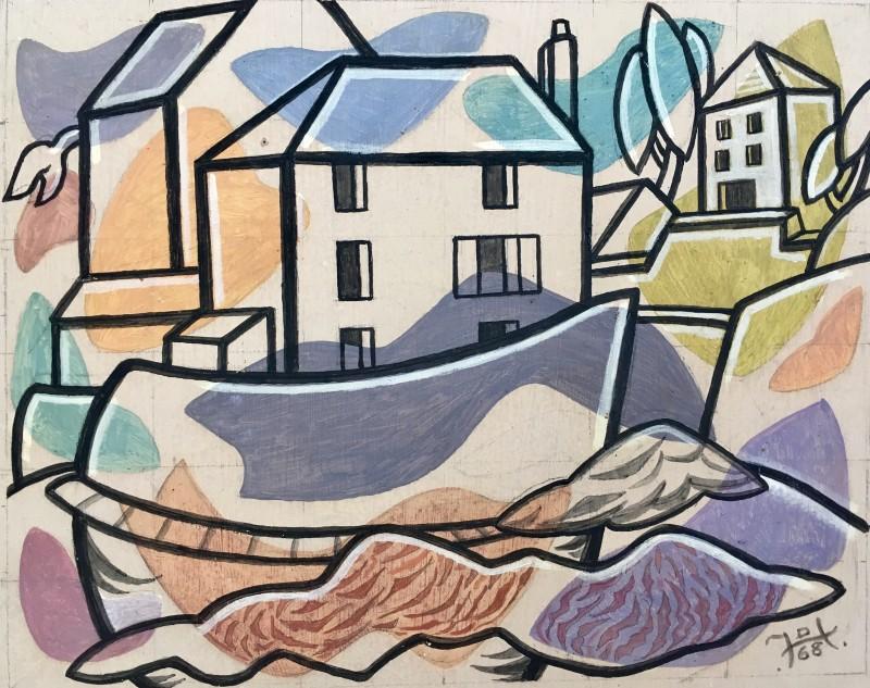 Doris Hatt (1890-1969)Watchet , c. 1960's