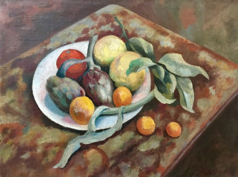 Roger Fry, Still Life with Fruit, 1920