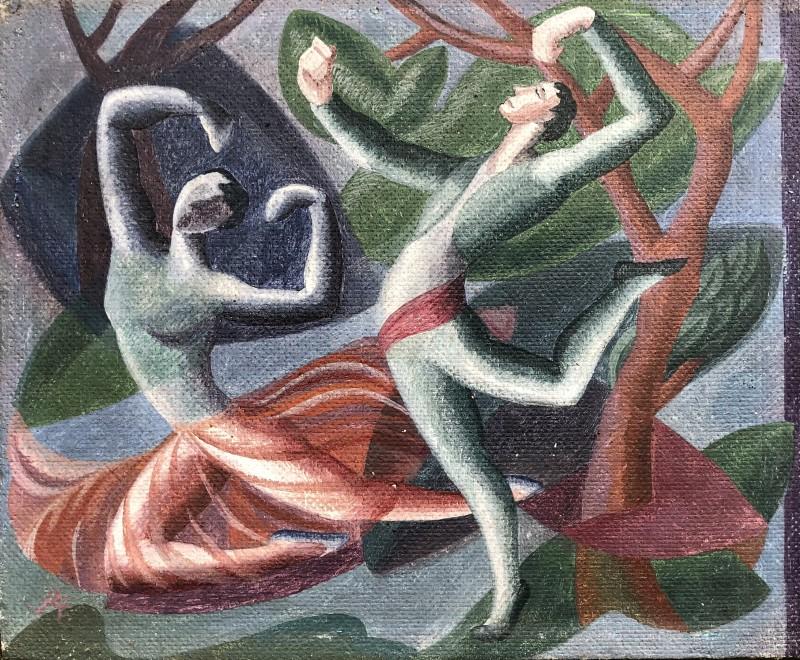 Doris Hatt (1890-1969)Spanish Dancers at the Old Vic, 1951