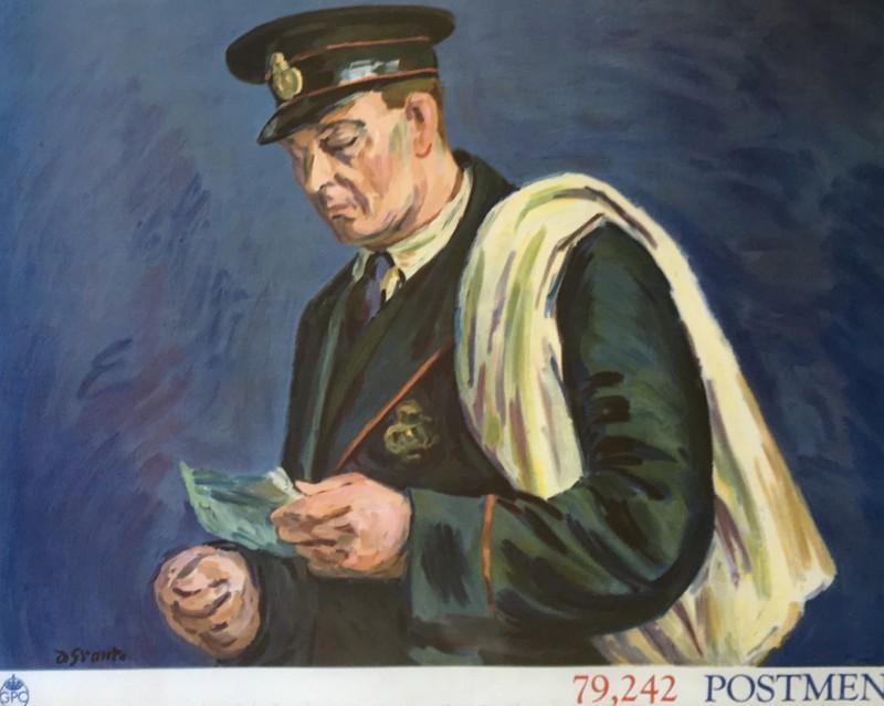 Duncan Grant (1885-1978)Postmen; Poster I, 1939