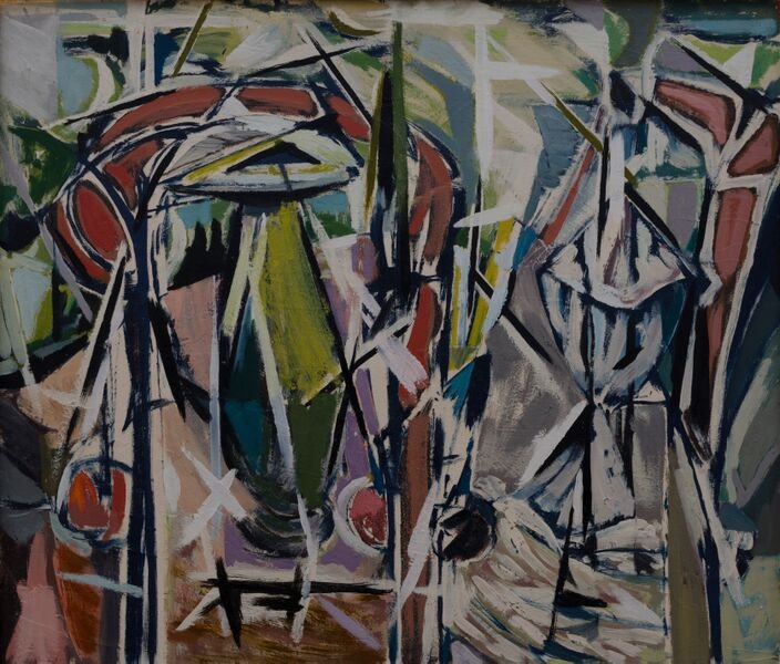Kenneth Lauder (1916-2004)The Green Vase, 1958