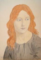 Ian Strang (1886-1952)Portrait of 'Julia', 1911