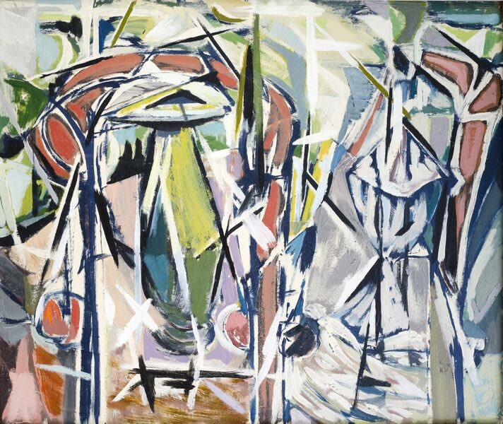 Kenneth Lauder (1916-2004)The Green Vase, 1958