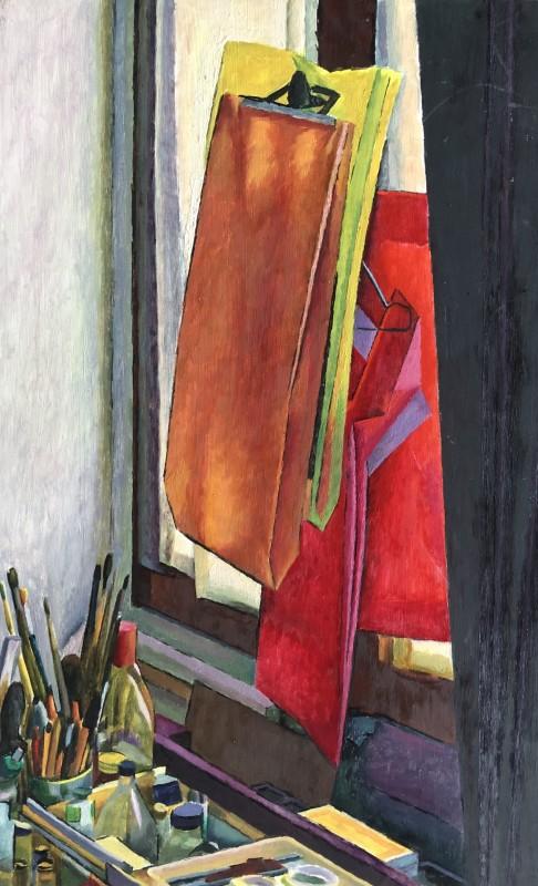 Jacques André Duffour, ARTIST'S STUDIO STILL LIFE, c. 1958