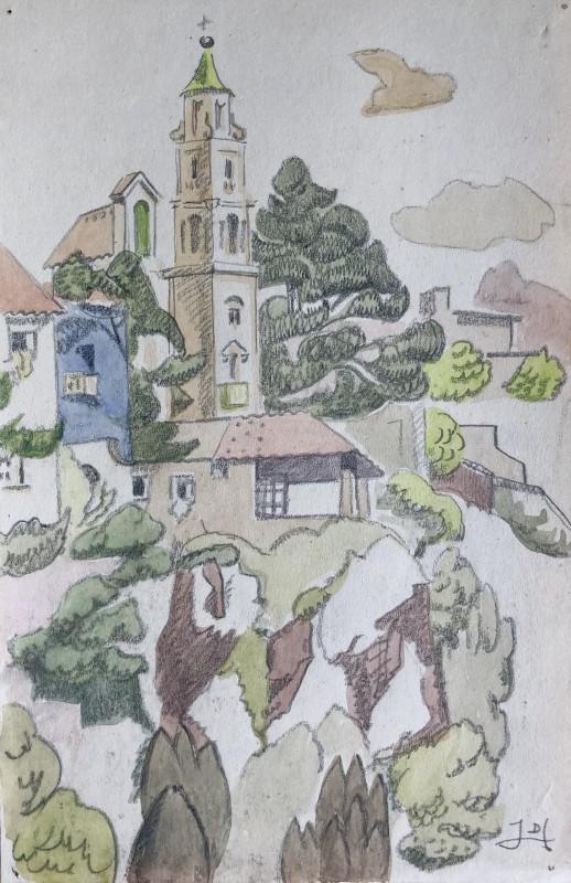 Doris Hatt (1890-1969)Calvi, Corsica