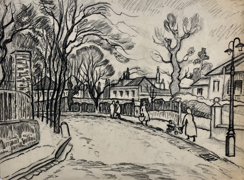 Ethelbert White (1891-1972)The Grove, Hampstead, c. 1930