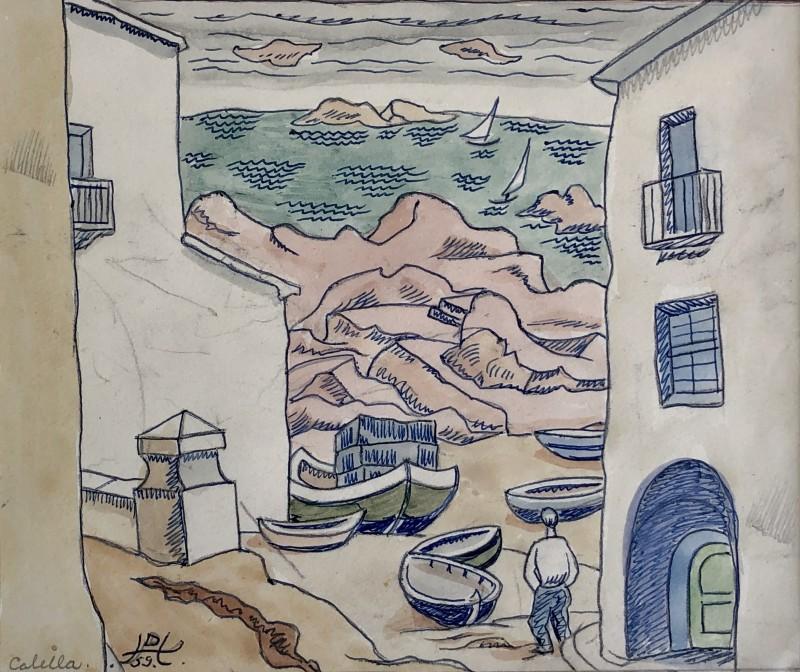 Doris Hatt (1890-1969)Calella, Spain, 1959