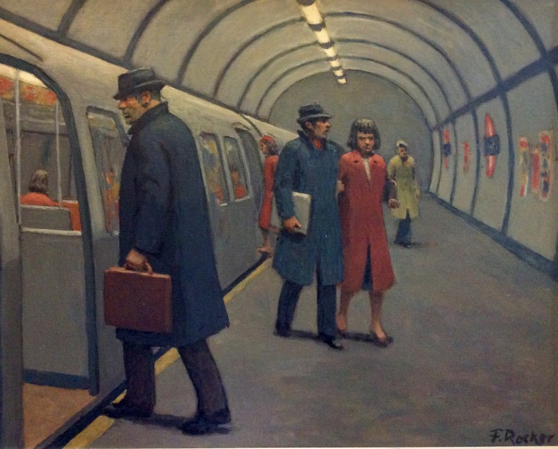 Fermin Rocker, The London Underground