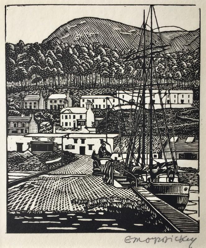 Edward Montgomery O'Rorke Dickey (1894-1977)An Irish Port, c. 1925