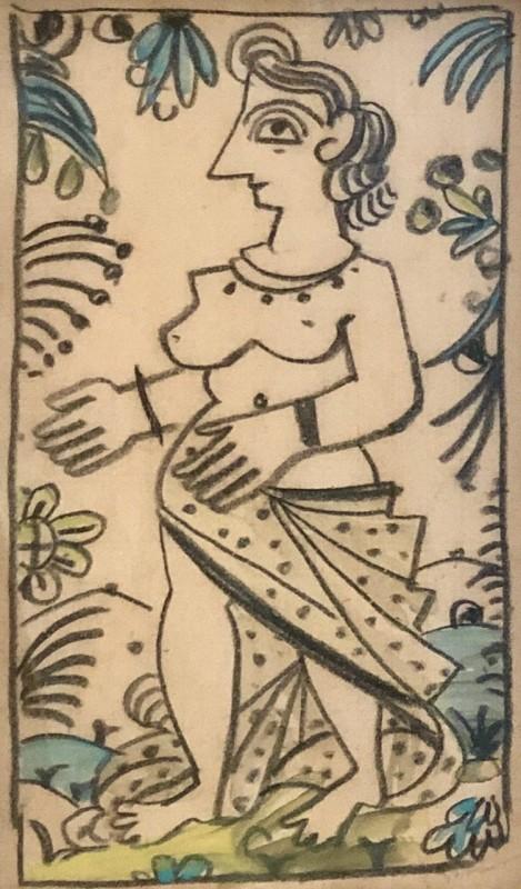 André Derain (1880-1954)Les baignueses, c. 1920