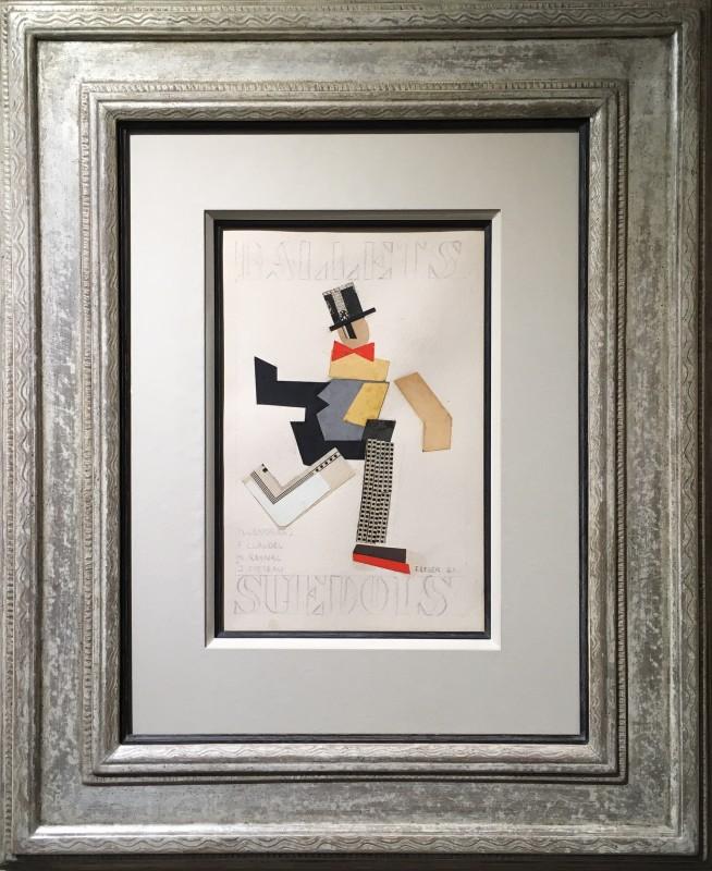Fernand Léger, Projets de couverture pour le programme des Ballet Suedois, 1923