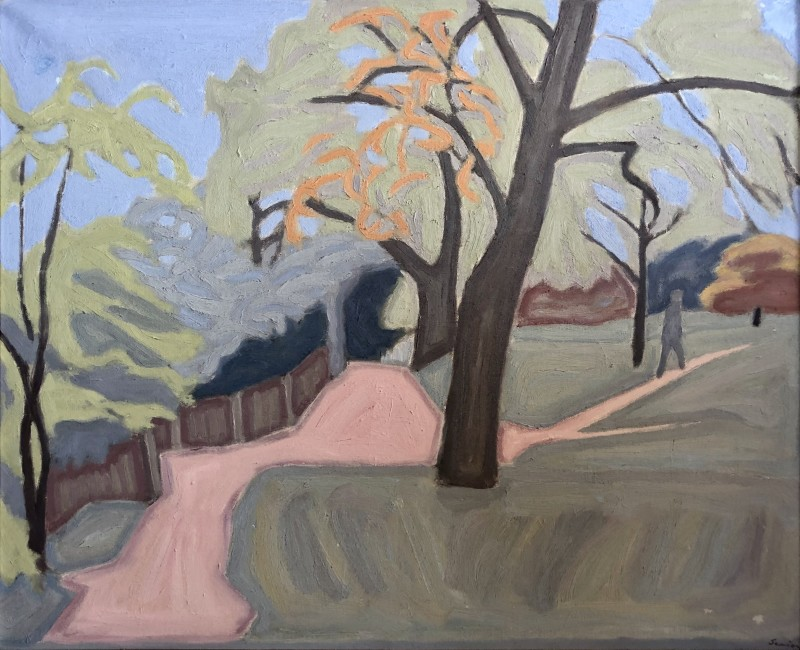 Bryan Senior (b. 1935)Hampstead Heath , 1965