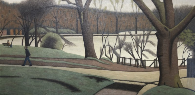 Bryan Senior, Figures, Hampstead Heath, 1979