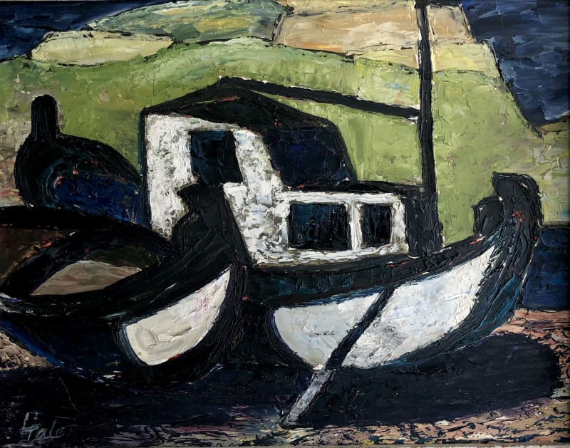 Helen Hale (b. 1936)Greek Boats, 1958